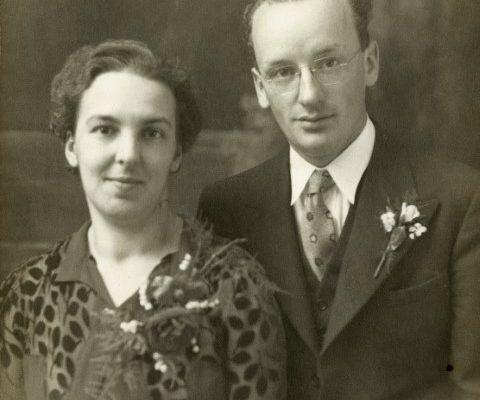 Gertrude et Evariste Breton