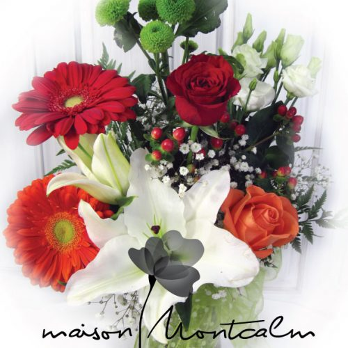 vase-fleurs-variees-orange-rouge-blanc